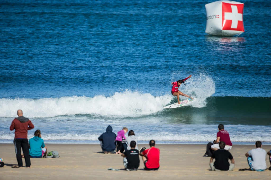 Swatch Girls Pro France 2014, Les Bourdaines, Seignosse, France