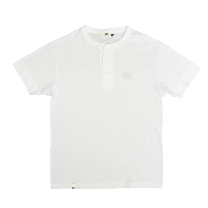 CLASSIC LOGO ヘンリーネックTシャツ『 WHITE』