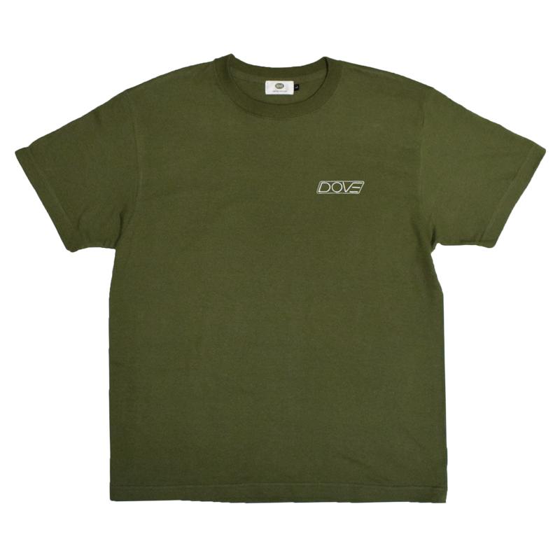 C-LOGO クルーネックTシャツ『 カーキ』